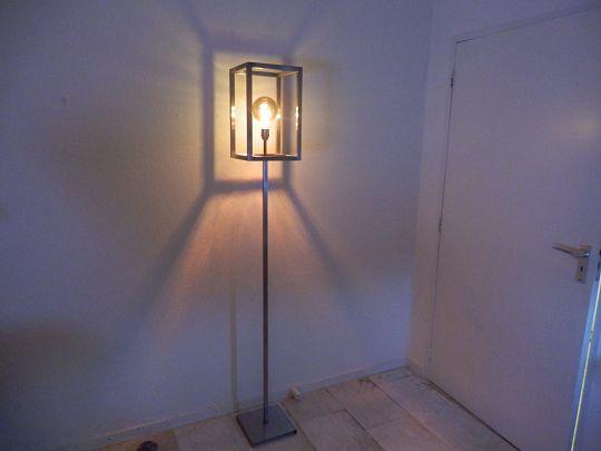 Dijkos Ztahl Rimini staandelamp wandlamp tafellamp - Retromediair in ...